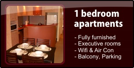 1 bedroom apartments - click here for details