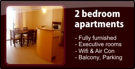 2 bedroom apartments - click here for details